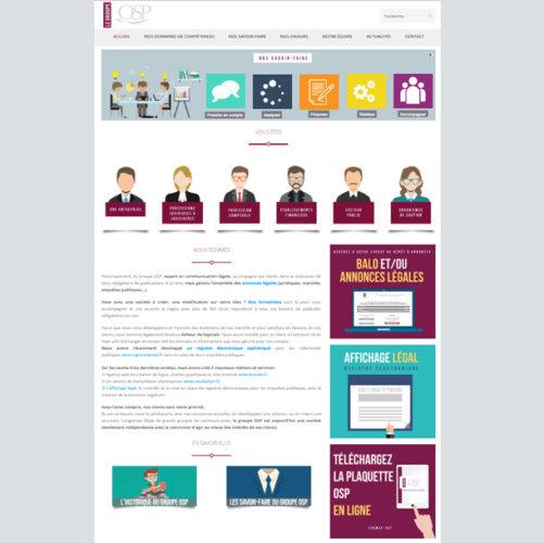 Site web osp